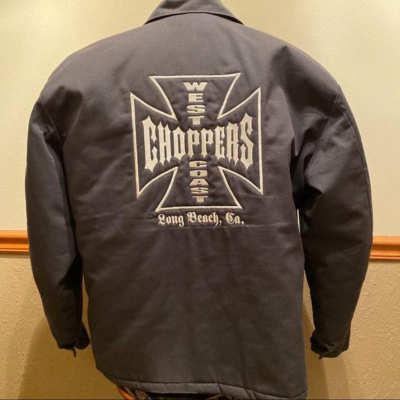 West Coast Choppers Men Track Jacket OG Black